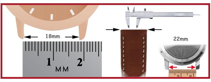 Bracelet Cuir montre outils pour horloger barrettes montres out