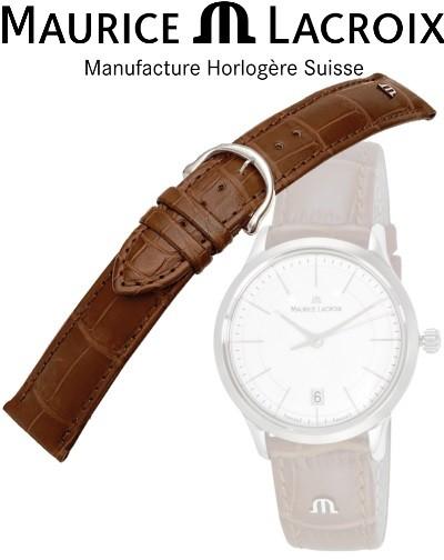 Bracelet montre MAURICE LACROIX LOISIANA cognac/inox 16