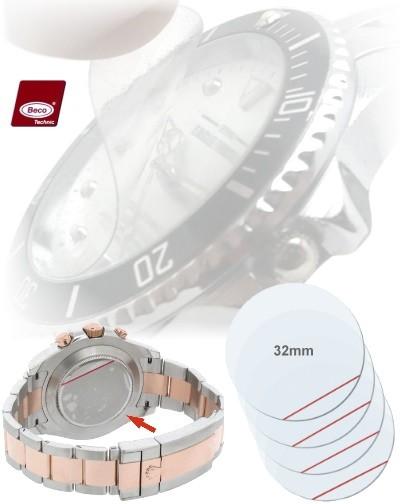 Protection film BECO 32mm pour verres et fond montres