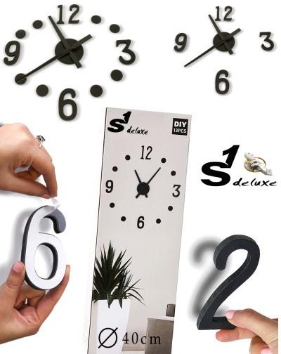 S1 Deluxe Kit grande horloge murale 3D