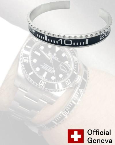 Bracelet OFFICIAL GENEVA SUB noir